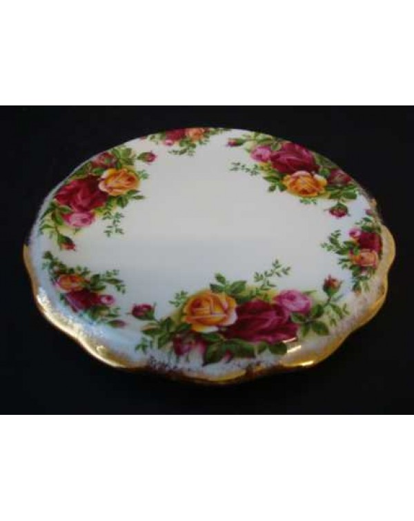 (SOLD) OLD COUNTRY ROSES TEAPOT STAND
