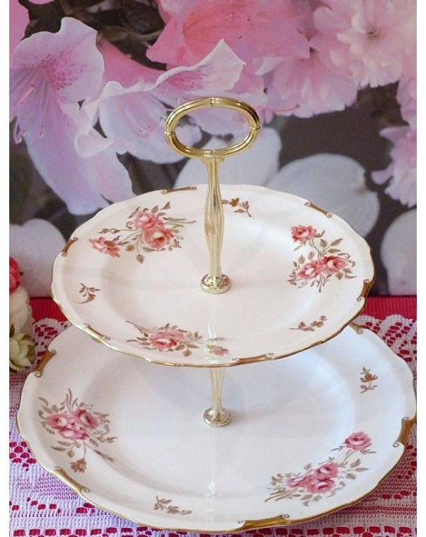 (OUT OF STOCK) ROYAL CROWN DERBY PINXTON ROSES VIN...