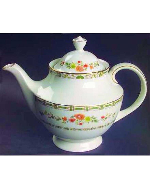 (OUT OF STOCK) ROYAL DOULTON MOSAIC GARDEN TEAPOT
