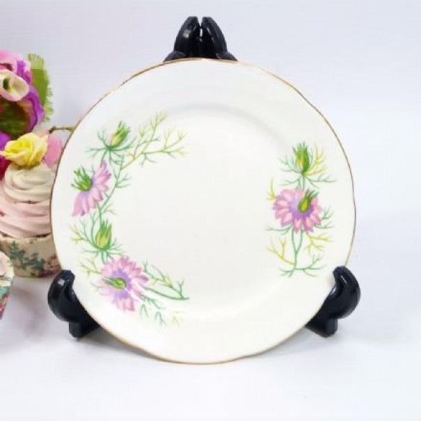(OUT OF STOCK) ADDERLEY LOVE IN THE MIST TEA PLATE