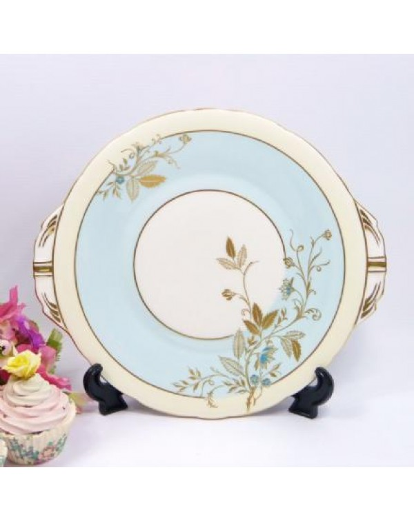 (OUT OF STOCK) AYNSLEY CAKE PLATE