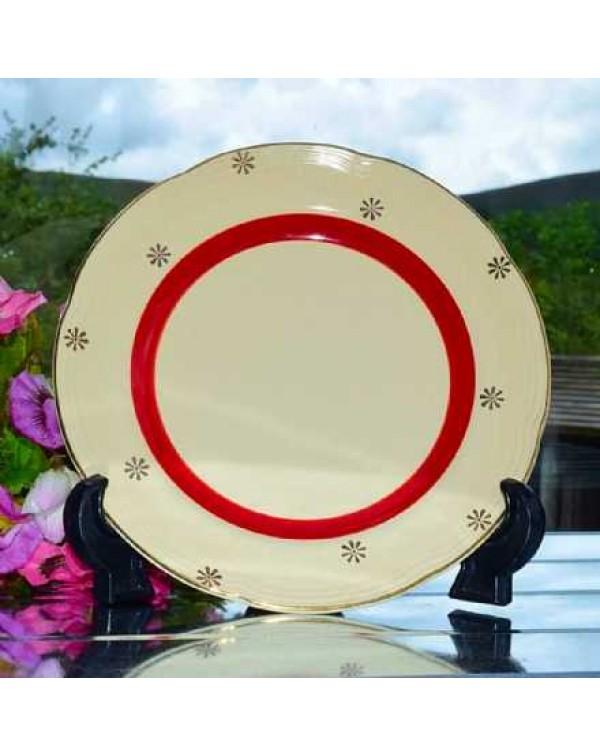 BARRATS DELPHACTIC TEA PLATE
