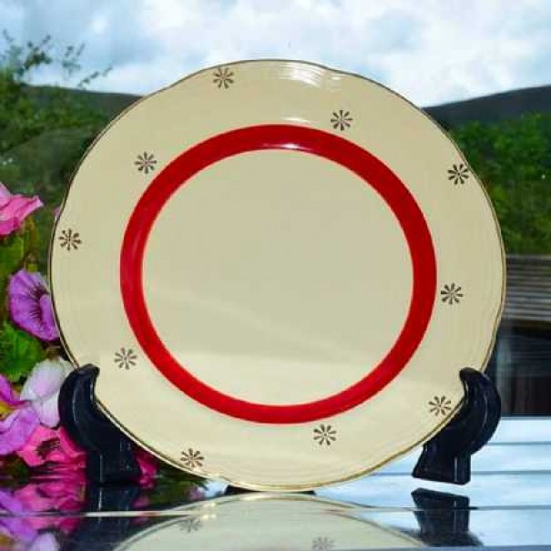 (OUT OF STOCK) BARRATS DELPHACTIC TEA PLATE