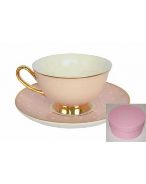 BOMBAY DUCK SPOTTY CUP & SAUCER