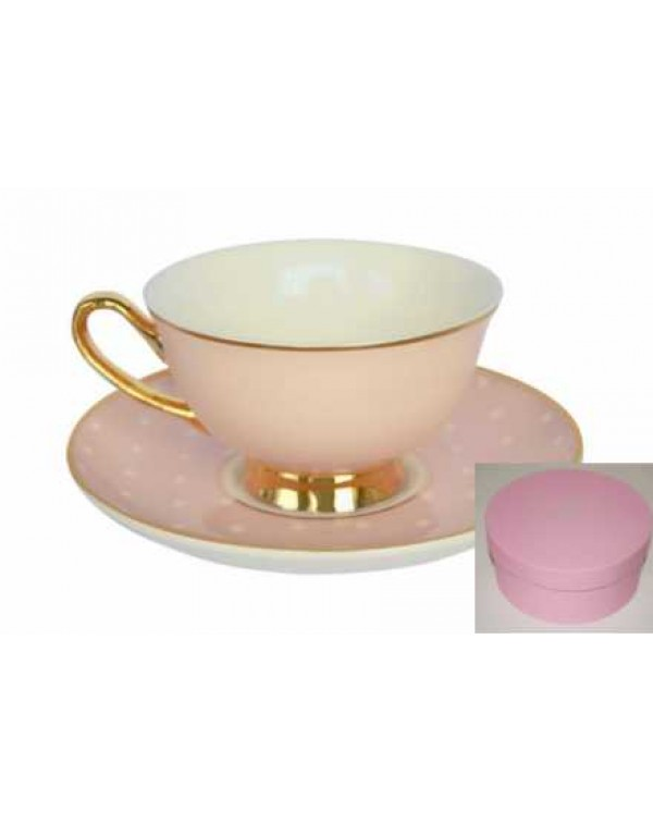 NEW BOMBAY DUCK SPOTTY CUP & SAUCER