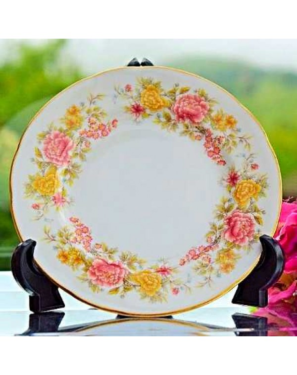 COLCLOUGH CHRYSANTHEMUM TEA PLATE
