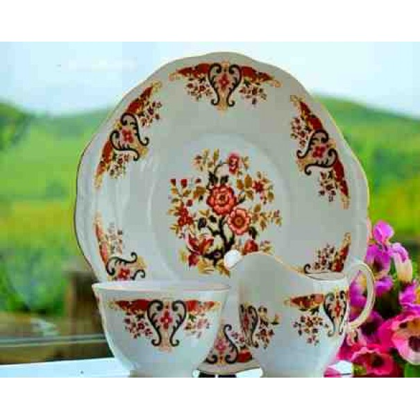 (OUT OF STOCK) COLCLOUGH ROYALE CAKE PLATE SET