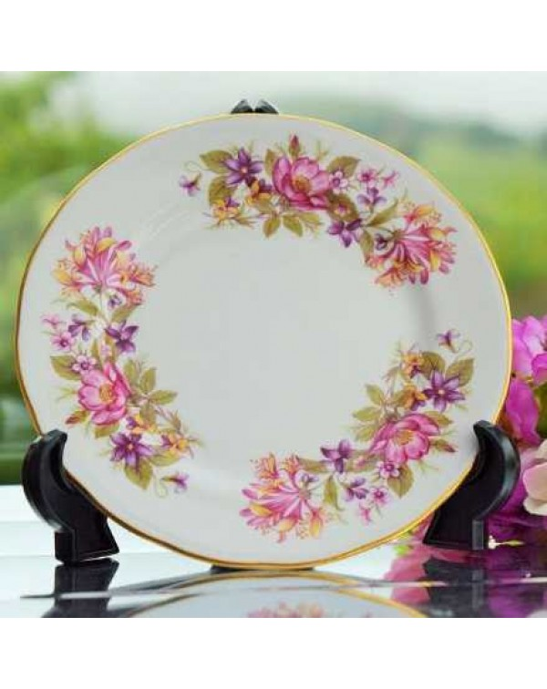 (OUT OF STOCK) COLCLOUGH WAYSIDE TEA PLATE