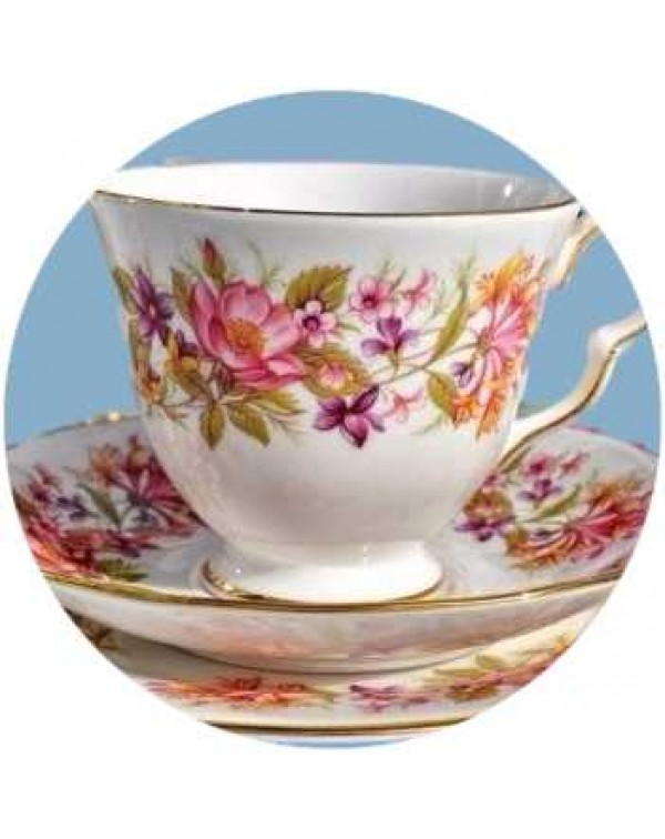 (OUT OF STOCK) COLCLOUGH WAYSIDE TEA TRIO