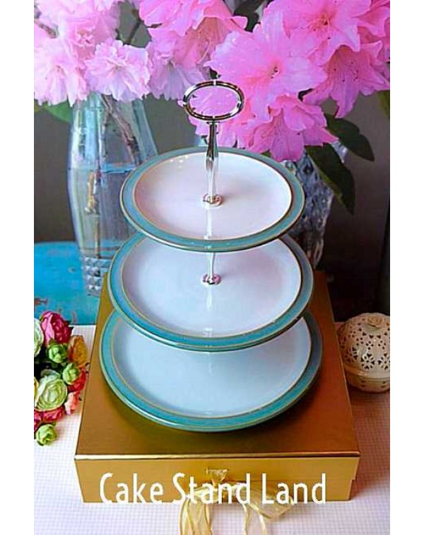 DENBY AZURE CAKE STAND
