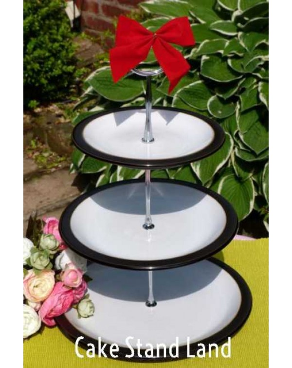 (OUT OF STOCK) DENBY BLACK CAKE STAND
