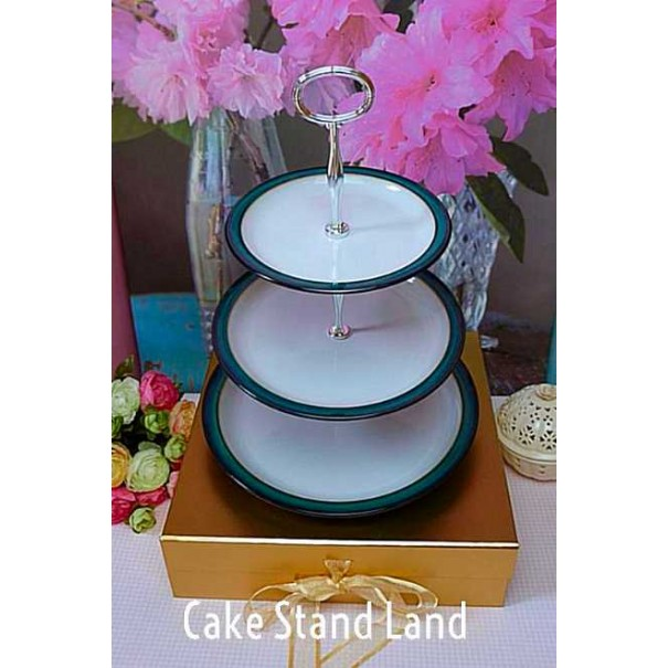 DENBY GREENWICH CAKE STAND