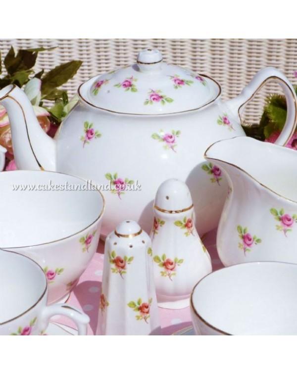 (OUT OF STOCK) DUCHESS ROSEBUD TEA SET