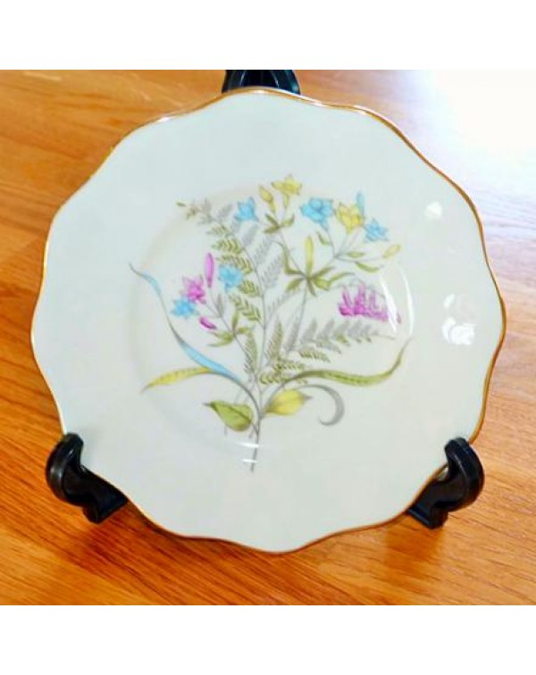 FOLEY FLORAL DANCE TEA PLATE