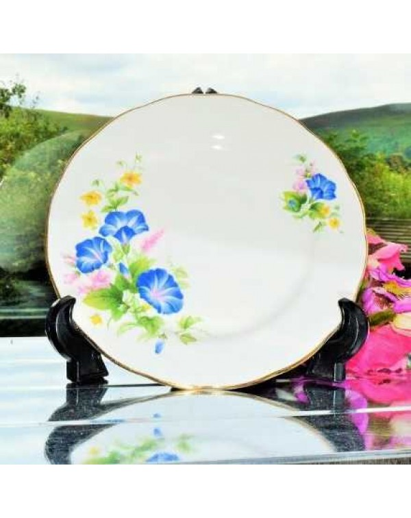 GAINSBOROUGH CONVOLVULUS TEA PLATE