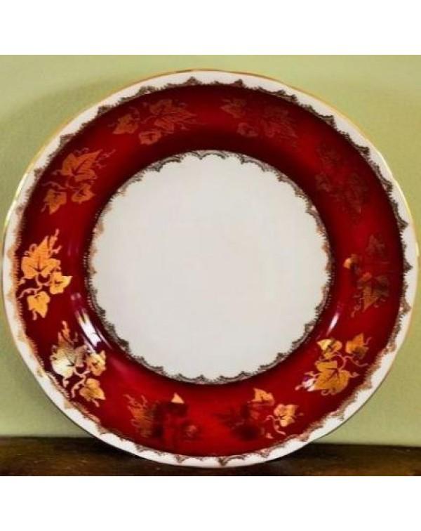 GLADSTONE RUBY TEA PLATE