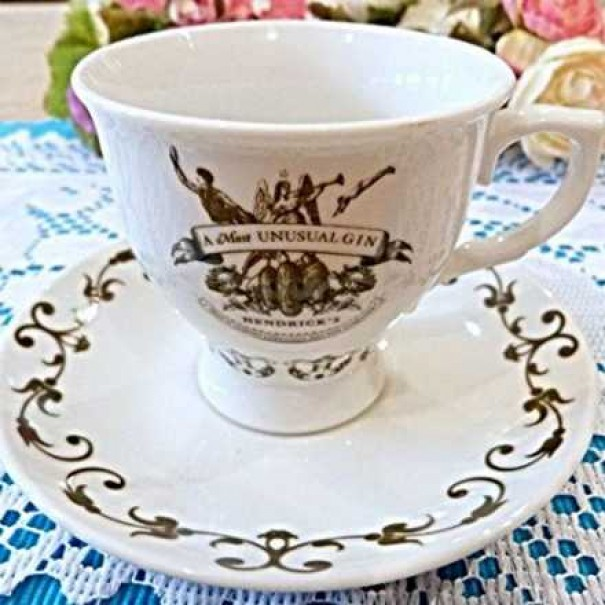 (OUT OF STOCK) HENDRICKS GIN CUP & SAUCER