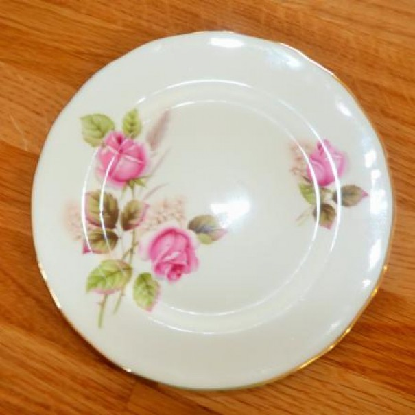 (OUT OF STOCK) IMPERIAL ROSE TEA PLATE