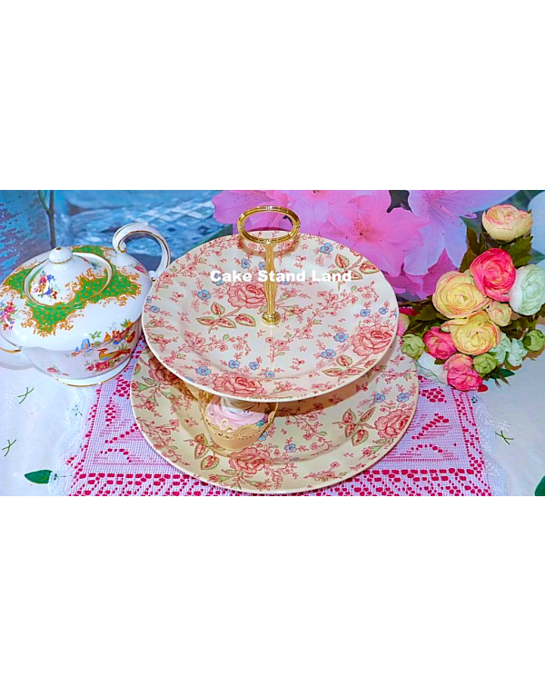 (OUT OF STOCK) JOHNSON BROTHERS CHINTZ NEW 2 TIER ...