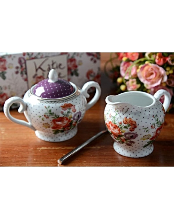 KATIE ALICE MILK JUG & SUGAR BOWL