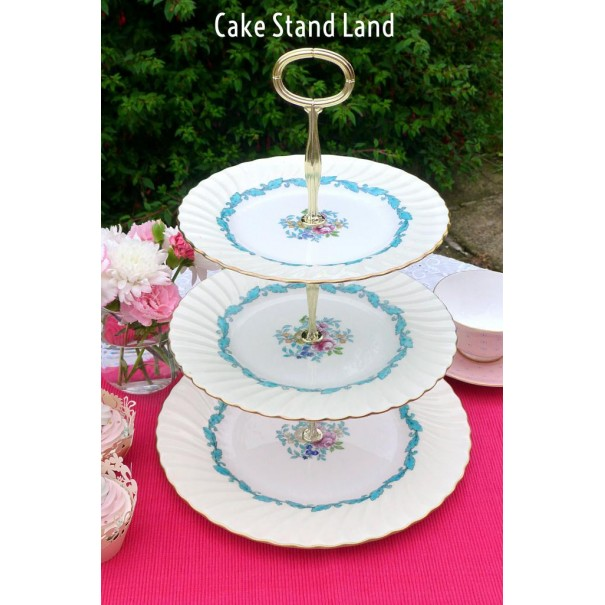(OUT OF STOCK) MINTON ARDMORE CAKE STAND