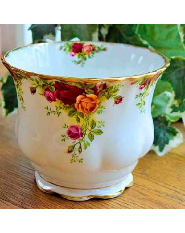OLD COUNTRY ROSES PLANT POT