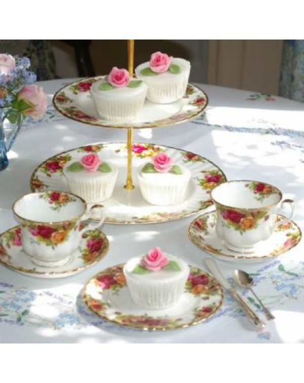 TEA FOR 2 OLD COUNTRY ROSES