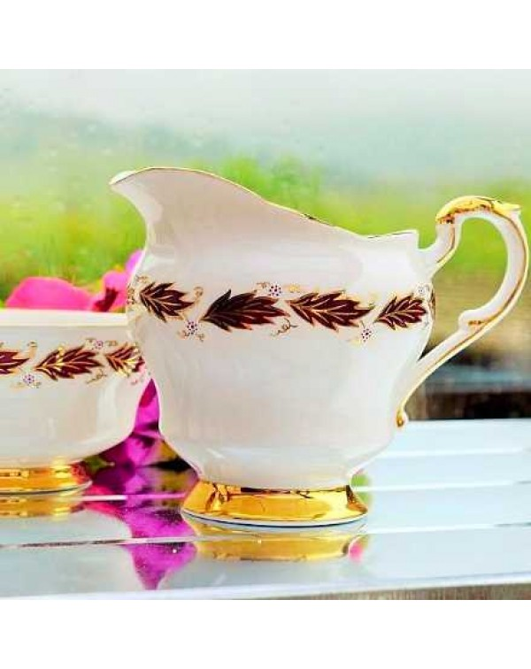 PARAGON ELEGANCE MILK JUG AND SUGAR BOWL