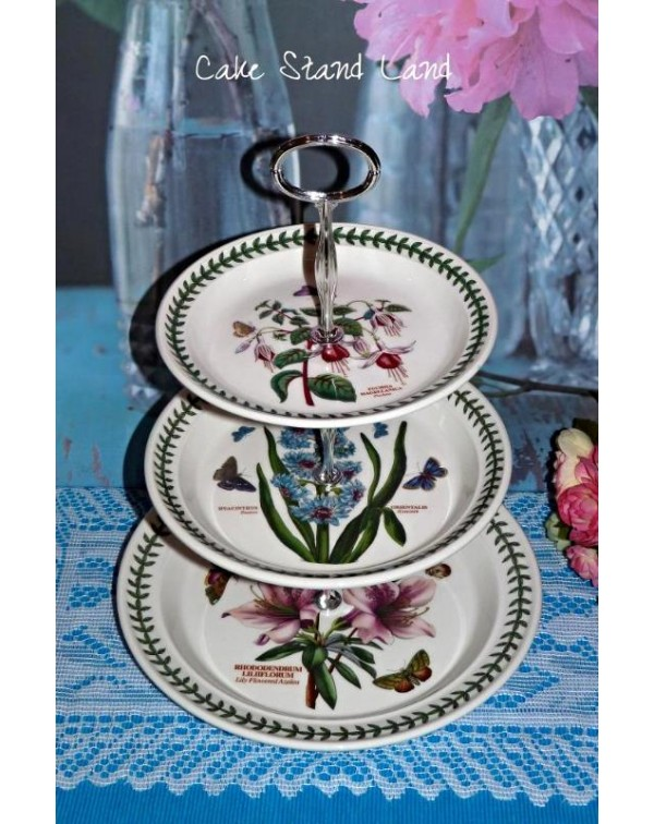(OUT OF STOCK) PORTMEIRION BOTANIC CAKE STAND