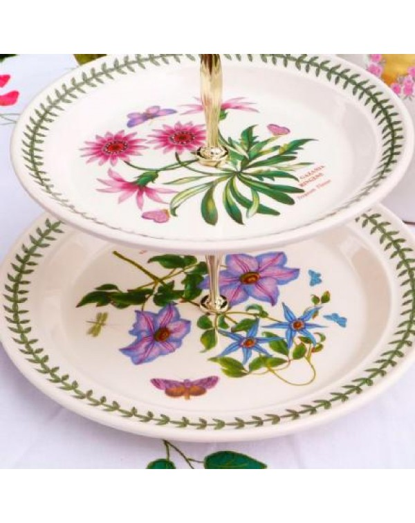 (SOLD) PORTMEIRION CAKE STAND 2 TIER