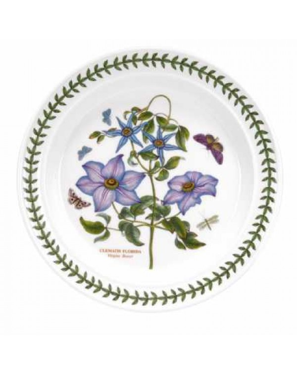 PORTMEIRION DINNER PLATE CLEMATIS
