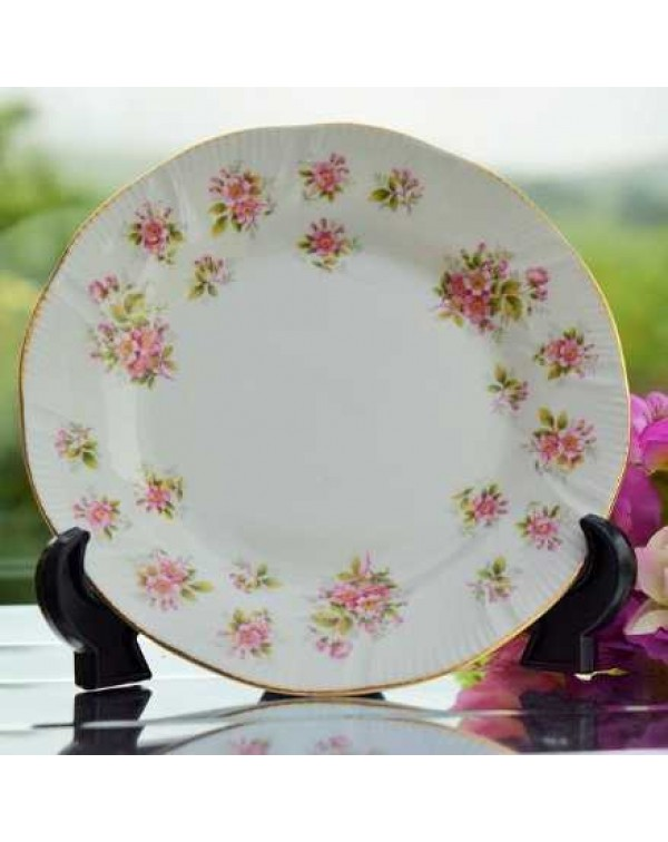 QUEEN ANNE APPLE BLOSSOM TEA PLATE
