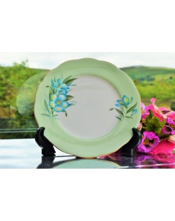 QUEEN ANNE CLEMATIS TEA PLATE
