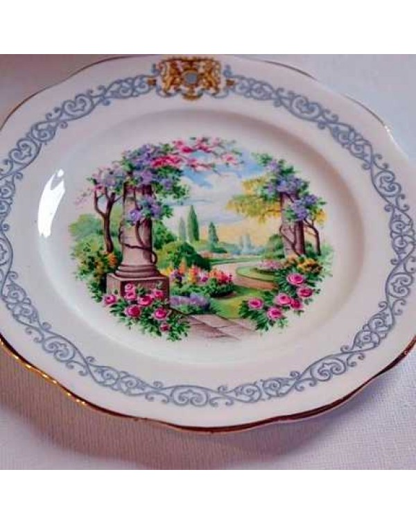 QUEEN ANNE KEW GARDENS TEA PLATE