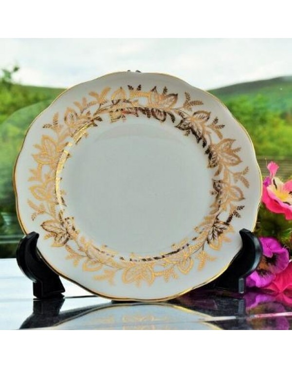 QUEEN ANNE LEAF TEA PLATE