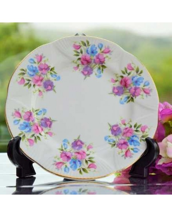 RICHMOND SWEET PEA TEA PLATE