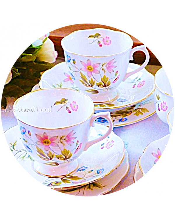 (OUT OF STOCK) RICHMOND VINTAGE CHINA TEA SET  WIL...