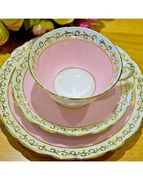 ROSINA PINK TEA TRIO