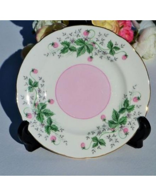 ROSLYN STRAWBERRY TEA PLATE