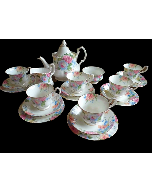 (OUT OF STOCK) ROYAL ALBERT BEATRICE VINTAGE TEA S...
