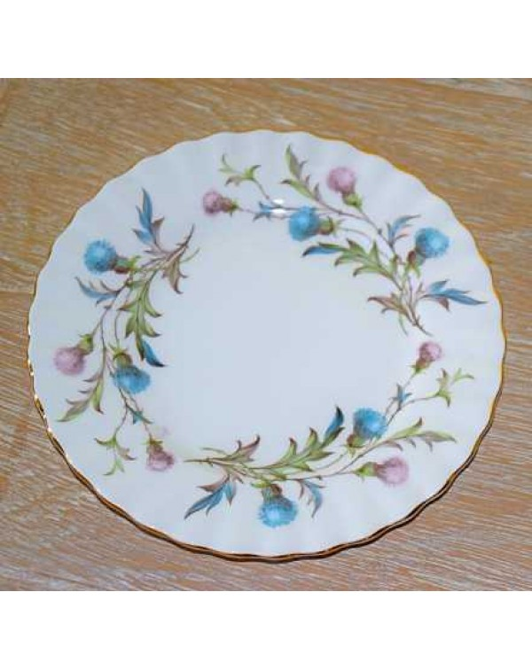 (OUT OF STOCK) ROYAL ALBERT BRIGADOON TEA PLATE