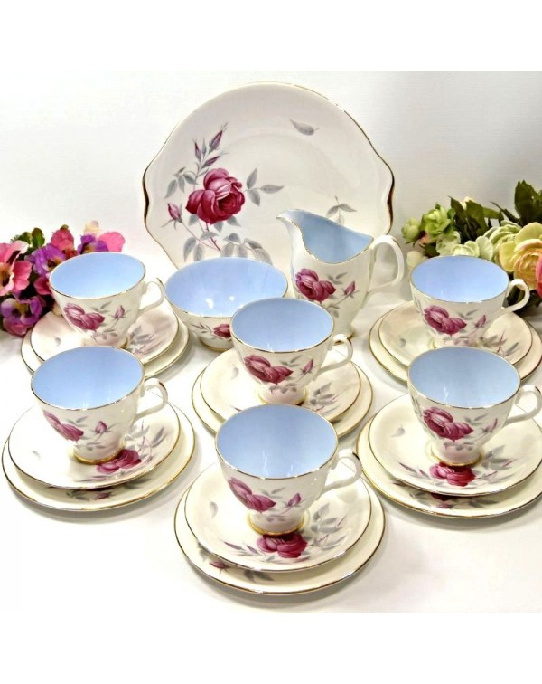 (OUT OF STOCK) ROYAL ALBERT CHARMAINE TEA SET