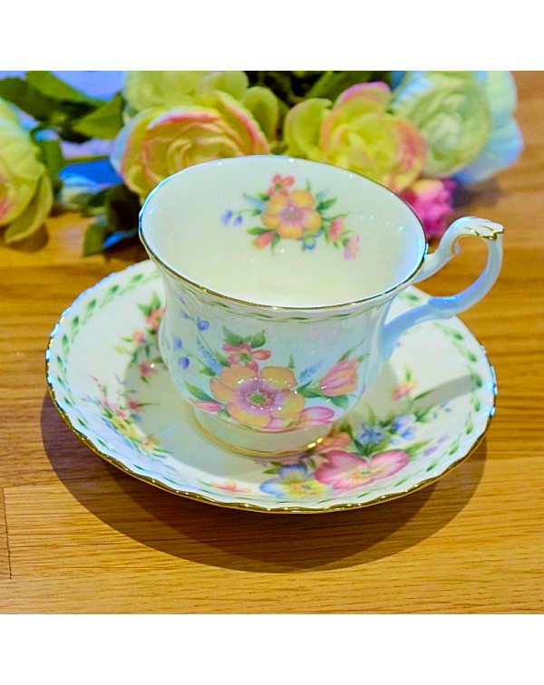 (OUT OF STOCK) ROYAL ALBERT CONSTANCE  CUP & S...