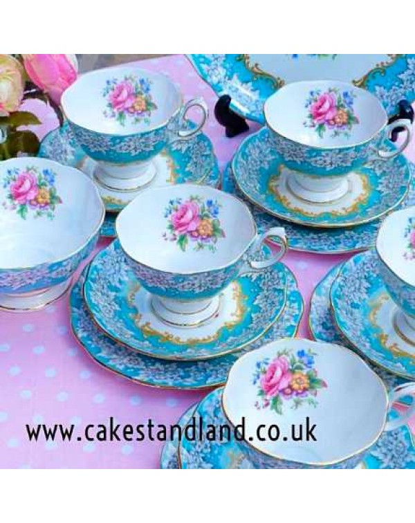 (OUT OF STOCK) ROYAL ALBERT ENCHANTMENT TEA SET