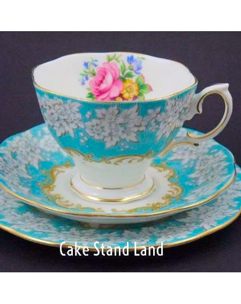 (OUT OF STOCK) Royal Albert Enchantment Tea Trio