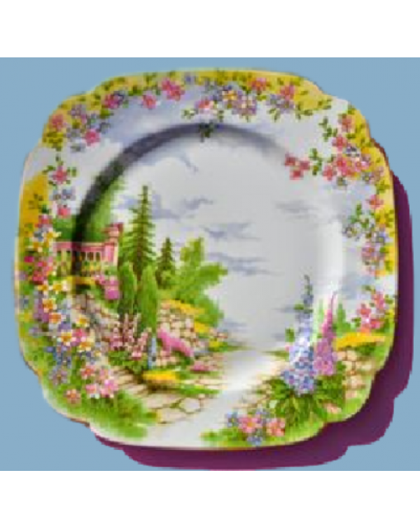 ROYAL ALBERT KENTISH ROCKERY TEA PLATE
