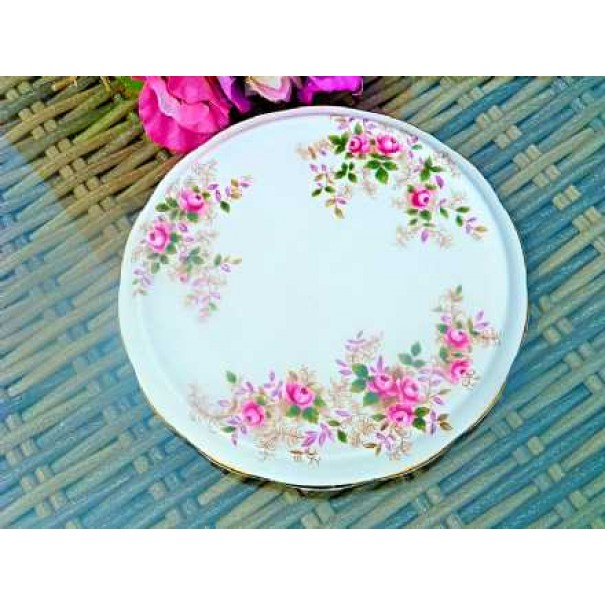 (OUT OF STOCK) LAVENDER ROSE TEAPOT STAND