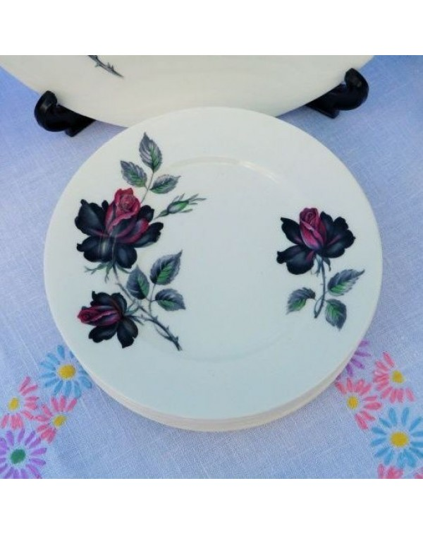 ROYAL ALBERT MASQUERADE TEA PLATE
