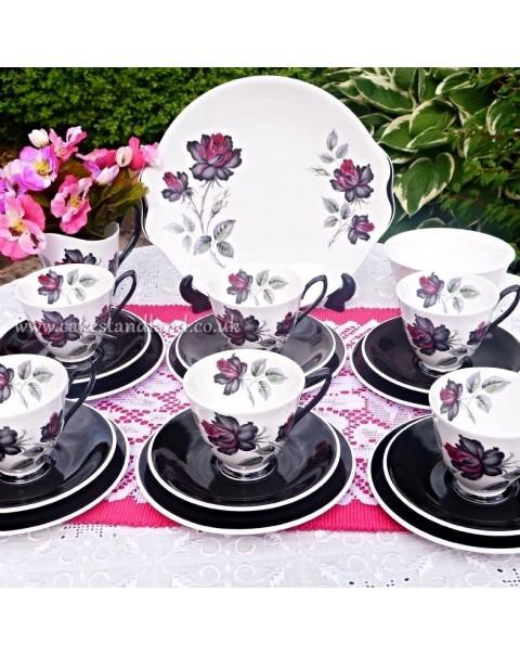 (OUT OF STOCK) ROYAL ALBERT MASQUERADE TEA SET