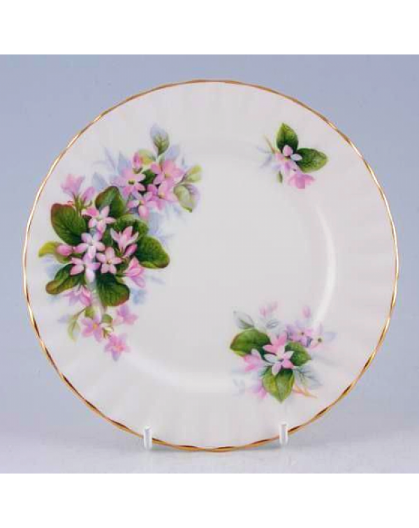 ROYAL ALBERT MAYFLOWER TEA PLATE